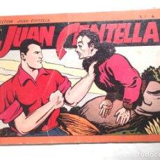 Tebeos: JUAN CENTELLA ALBUM ROJO Nº 4 HISPANO AMERICANA AÑO 1944. Lote 140089738
