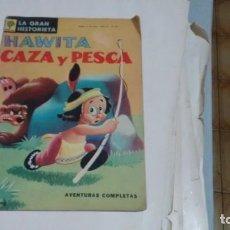 Tebeos: LA GRAN HISTORIETA - HAWITA CAZA Y PESCA - NUMERO 292 -. Lote 140116398