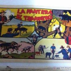 Tebeos: JORGE Y FERNANDO - LA PANTERA Y EL TRAMPERO (NUEVO COMPLETAMENTE). Lote 140143526
