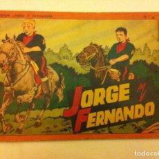 Tebeos: JORGE Y FERNANDO - ALBUM ROJO Nº. 4. Lote 140159050