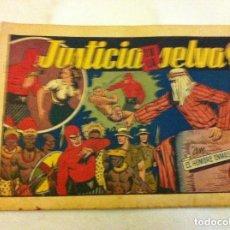 Tebeos: HOMBRE ENMASCARADO - JUSTICIA EN LA SELVA -USADO. Lote 140364026