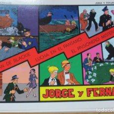 BDs: JORGE Y FERNANDO Nº 3 SERIE CUADERNILLOS EDIT JOAQUIN ESTEVE AÑO 1992. Lote 140395146