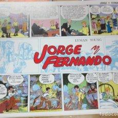 Tebeos - JORGE Y FERNANDO Nº 1 SERIE CUADERNILLOS EDIT JOAQUIN ESTEVE AÑO 1985 - 140396306