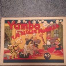Tebeos: YUMBO Y SU ALEGRE PANDILLA. Lote 140423578