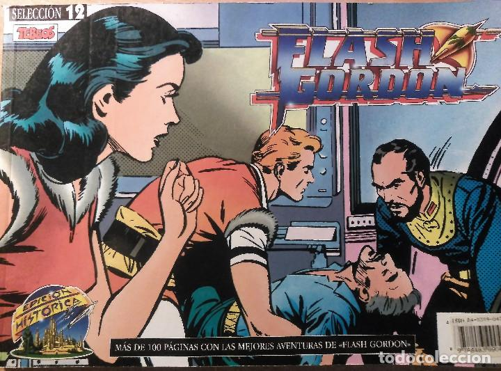 FLASH GORDON, SELECCIÓN 12, RETAPADO NÚMEROS 45, 46, 47 Y 48 (Tebeos y Comics - Hispano Americana - Flash Gordon)