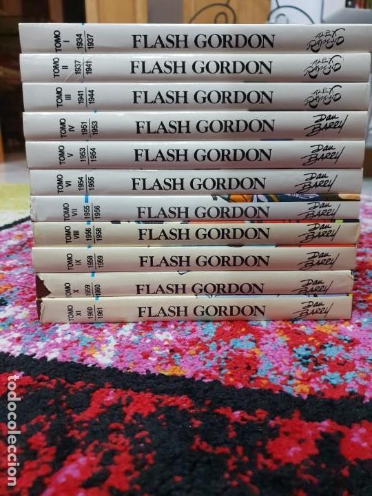 Tebeos: FLASH GORDON / EDICIÓN HISTORICA COMPLETA EN 11 TOMOS / EDICIONES B - Foto 3 - 140524582