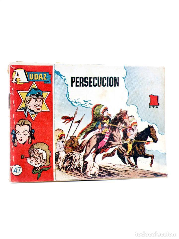 """COLECCIÃ""""N AUDAZ 47. PERSECUCIÃ""""N (ROY D'AMY) HISPANO AMERICANA, 1949. ORIGINAL (Tebeos y Comics - Hispano Americana - Otros)"""