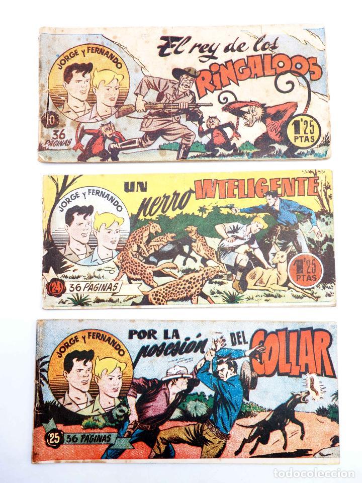 Tebeos: JORGE Y FERNANDO LOTE DE 75 NÚMEROS. VER LISTA (Lyman Young) Hispano Americana, 1949 - Foto 2 - 140752258
