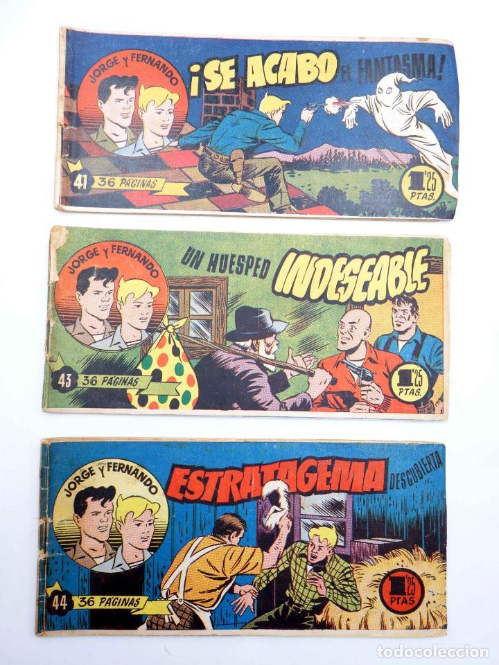 Tebeos: JORGE Y FERNANDO LOTE DE 75 NÚMEROS. VER LISTA (Lyman Young) Hispano Americana, 1949 - Foto 8 - 140752258