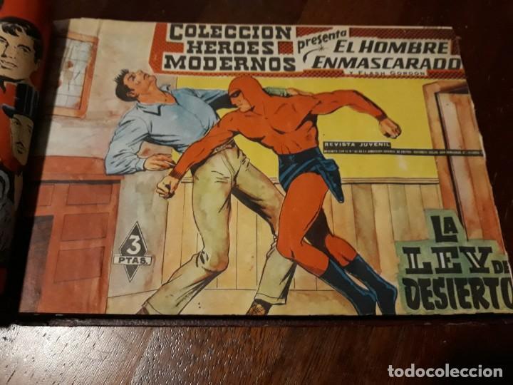 Tebeos: EL HOMBRE ENMASCARADO COLECCION CASI COMPLETA A FALTA DE 8 NOS. - Foto 16 - 140783806