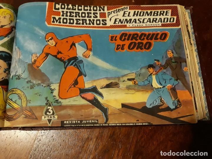 Tebeos: EL HOMBRE ENMASCARADO COLECCION CASI COMPLETA A FALTA DE 8 NOS. - Foto 18 - 140783806