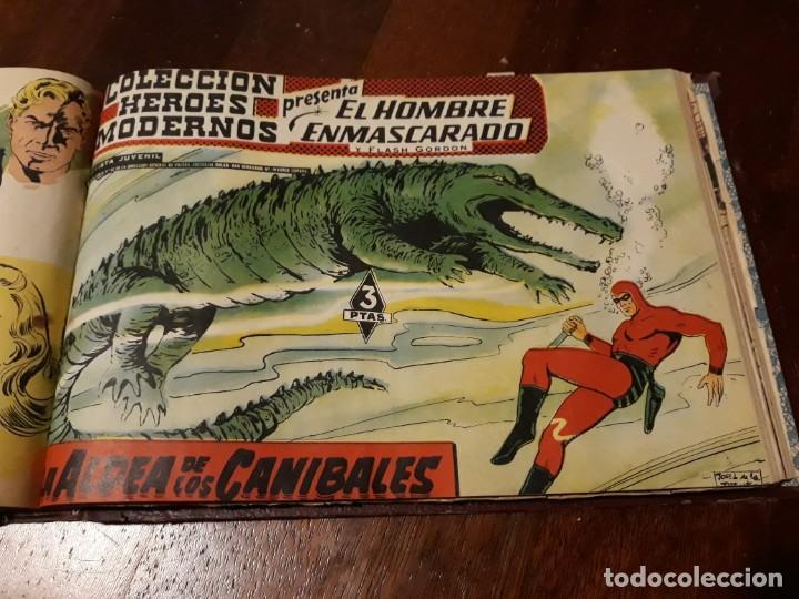EL HOMBRE ENMASCARADO COLECCION CASI COMPLETA A FALTA DE 8 NOS. (Tebeos y Comics - Hispano Americana - Hombre Enmascarado)