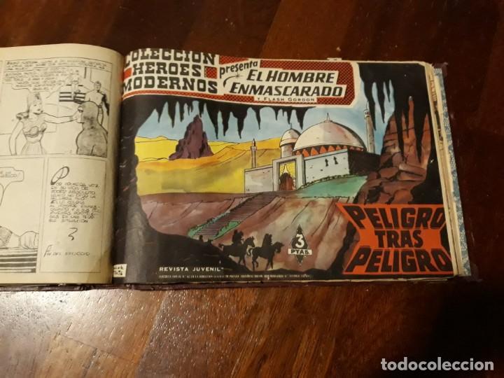Tebeos: EL HOMBRE ENMASCARADO COLECCION CASI COMPLETA A FALTA DE 8 NOS. - Foto 25 - 140783806