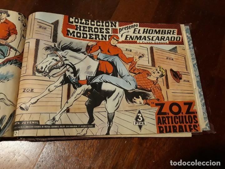Tebeos: EL HOMBRE ENMASCARADO COLECCION CASI COMPLETA A FALTA DE 8 NOS. - Foto 29 - 140783806