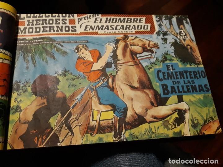 Tebeos: EL HOMBRE ENMASCARADO COLECCION CASI COMPLETA A FALTA DE 8 NOS. - Foto 4 - 140783806