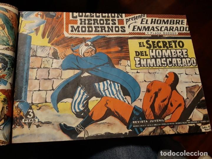 Tebeos: EL HOMBRE ENMASCARADO COLECCION CASI COMPLETA A FALTA DE 8 NOS. - Foto 5 - 140783806
