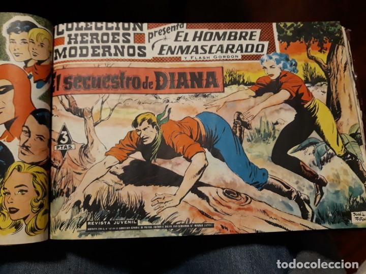 Tebeos: EL HOMBRE ENMASCARADO COLECCION CASI COMPLETA A FALTA DE 8 NOS. - Foto 9 - 140783806