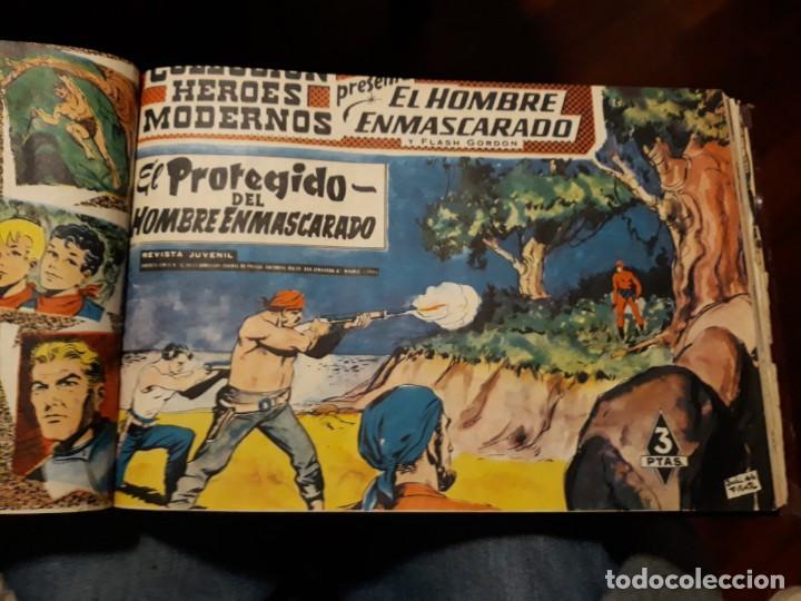 Tebeos: EL HOMBRE ENMASCARADO COLECCION CASI COMPLETA A FALTA DE 8 NOS. - Foto 10 - 140783806