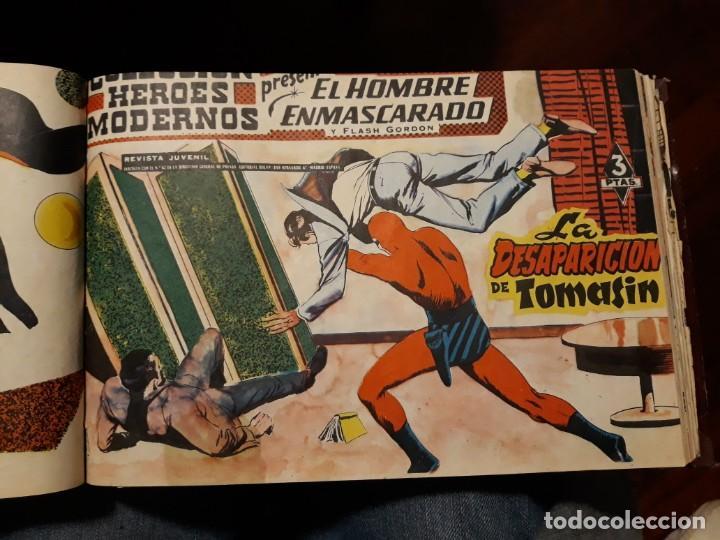Tebeos: EL HOMBRE ENMASCARADO COLECCION CASI COMPLETA A FALTA DE 8 NOS. - Foto 11 - 140783806