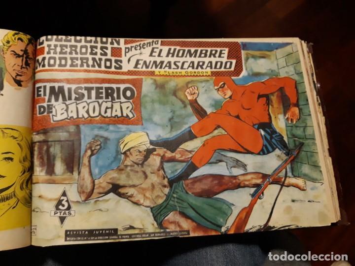 Tebeos: EL HOMBRE ENMASCARADO COLECCION CASI COMPLETA A FALTA DE 8 NOS. - Foto 12 - 140783806