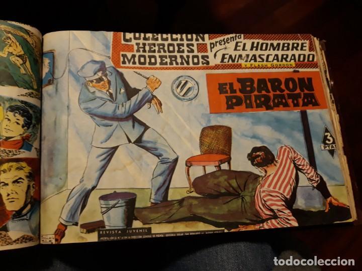 Tebeos: EL HOMBRE ENMASCARADO COLECCION CASI COMPLETA A FALTA DE 8 NOS. - Foto 13 - 140783806