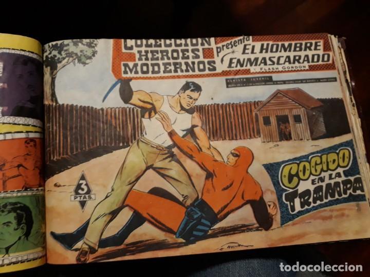 Tebeos: EL HOMBRE ENMASCARADO COLECCION CASI COMPLETA A FALTA DE 8 NOS. - Foto 14 - 140783806