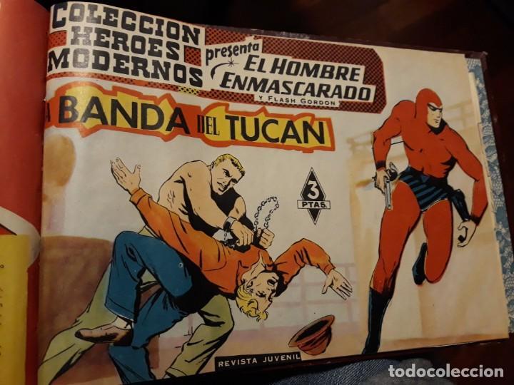 Tebeos: EL HOMBRE ENMASCARADO COLECCION CASI COMPLETA A FALTA DE 8 NOS. - Foto 30 - 140783806