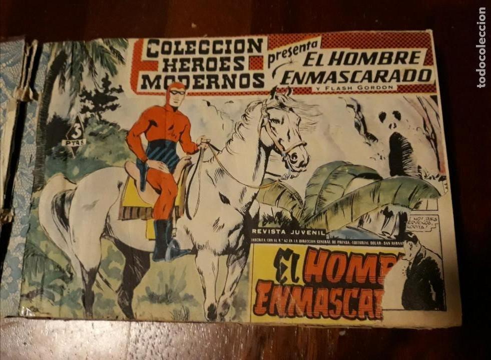 Tebeos: EL HOMBRE ENMASCARADO COLECCION CASI COMPLETA A FALTA DE 8 NOS. - Foto 2 - 140783806