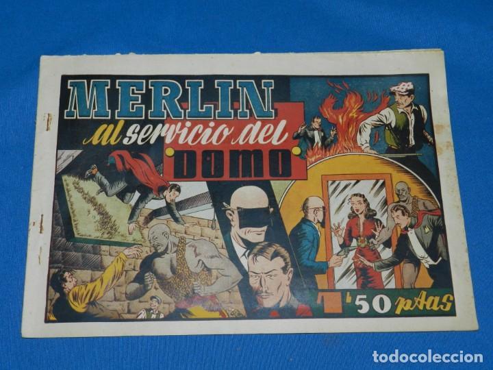 (M1) MERLIN EL REY DE LA MAGIA NUM 20 - HISPANO AMERICANA , SEÑALES DE USO NORMALES (Tebeos y Comics - Hispano Americana - Merlín)