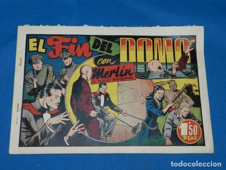 (M1) MERLIN EL REY DE LA MAGIA NUM 21 - HISPANO AMERICANA , SEÑALES DE USO NORMALES (Tebeos y Comics - Hispano Americana - Merlín)