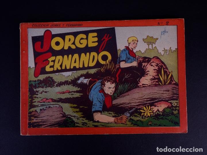 JORGE Y FERNANDO Nº 2. BARCELONA 1940 (Tebeos y Comics - Hispano Americana - Leyendas Infantiles)