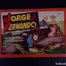 Tebeos: JORGE Y FERNANDO Nº 2. BARCELONA 1940. Lote 142094590