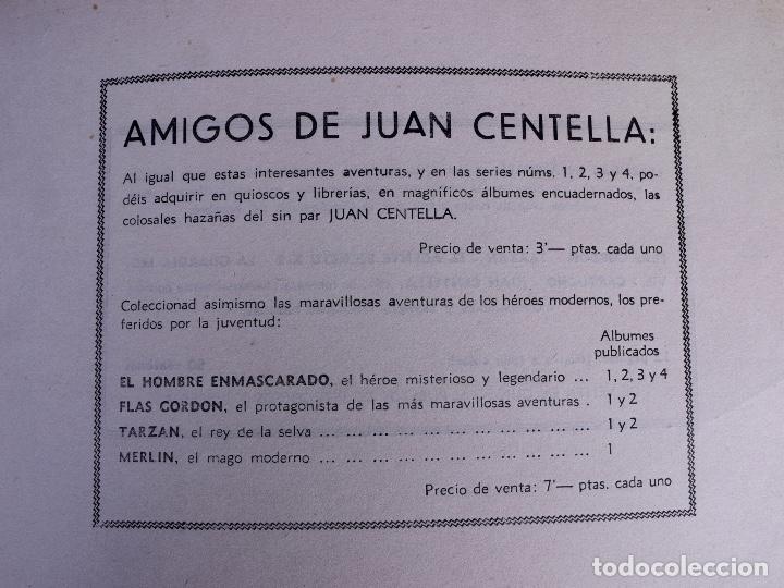 Tebeos: JORGE Y FERNANDO Nº 2. BARCELONA 1940 - Foto 4 - 142094590