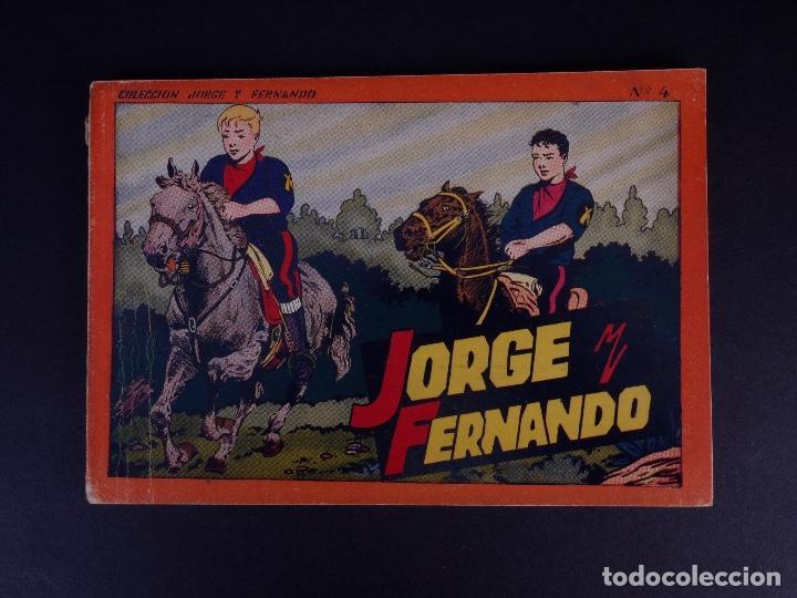 JORGE Y FERNANDO Nº 4. BARCELONA 1940 (Tebeos y Comics - Hispano Americana - Leyendas Infantiles)