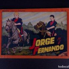 Tebeos: JORGE Y FERNANDO Nº 4. BARCELONA 1940. Lote 142094746