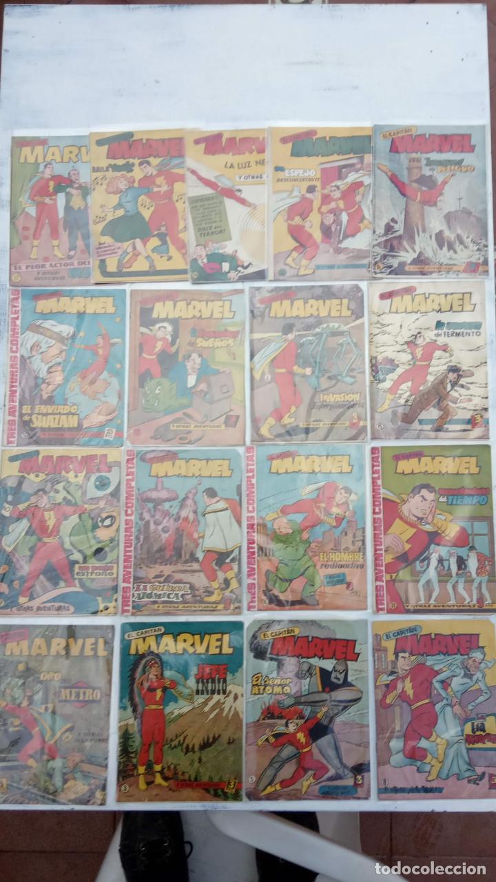 EL CAPITÁN MARVEL ORIGINAL - 17 NºS - 31,29,28,21,17,15,14,13,12,11,10,9,7,6,5,4,3,2 VER PORTADAS (Tebeos y Comics - Hispano Americana - Capitán Marvel)