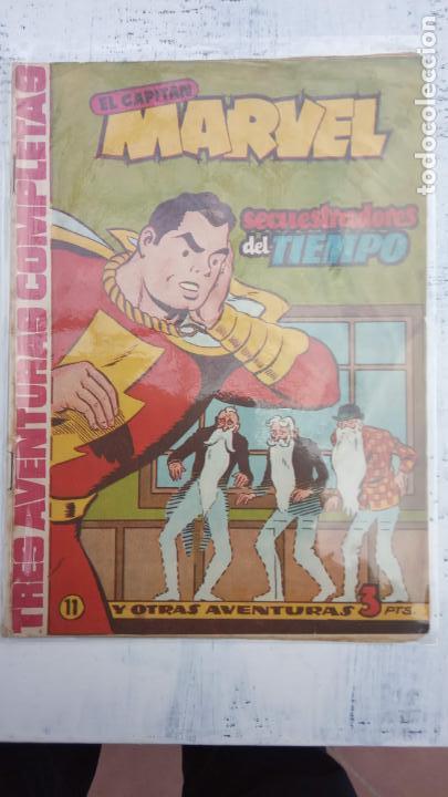 Tebeos: EL CAPITÁN MARVEL ORIGINAL - 17 NºS - 31,29,28,21,17,15,14,13,12,11,10,9,7,6,5,4,3,2 VER PORTADAS - Foto 12 - 142359190