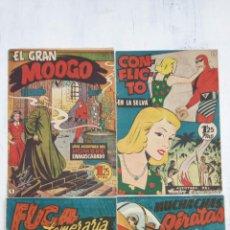 Tebeos: EL HOMBRE ENMASCARADO ORIGINAL HISPANO AMERICANA - LOTE NºS 2,4,9,13. Lote 142360314