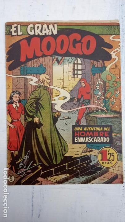 Tebeos: EL HOMBRE ENMASCARADO ORIGINAL HISPANO AMERICANA - LOTE NºS 2,4,9,13 - Foto 2 - 142360314
