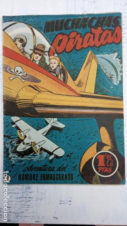 Tebeos: EL HOMBRE ENMASCARADO ORIGINAL HISPANO AMERICANA - LOTE NºS 2,4,9,13 - Foto 3 - 142360314