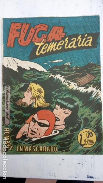 Tebeos: EL HOMBRE ENMASCARADO ORIGINAL HISPANO AMERICANA - LOTE NºS 2,4,9,13 - Foto 4 - 142360314