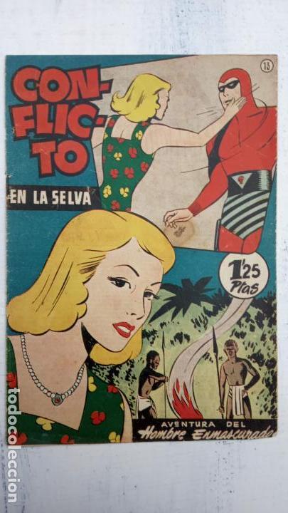 Tebeos: EL HOMBRE ENMASCARADO ORIGINAL HISPANO AMERICANA - LOTE NºS 2,4,9,13 - Foto 5 - 142360314