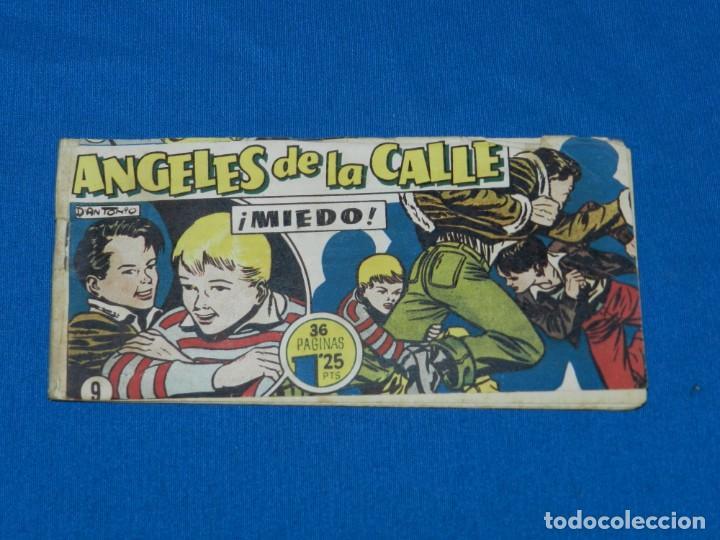 (M19) ANGELES DE LA CALLE NUM 9 , HISPANO AMERICANA , SEÑALES DE USO CON ROTURITAS (Tebeos y Comics - Hispano Americana - Otros)