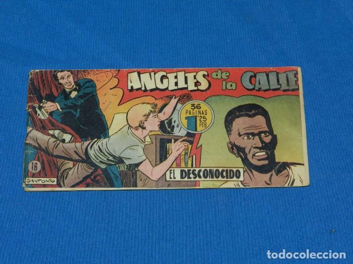 (M19) ANGELES DE LA CALLE NUM 16 , HISPANO AMERICANA , SEÑALES DE USO CON ROTURITAS (Tebeos y Comics - Hispano Americana - Otros)