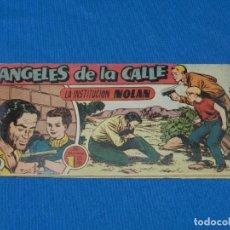 Tebeos - (M19) ANGELES DE LA CALLE NUM 19 , HISPANO AMERICANA , SEÑALES DE USO CON ROTURITAS - 142448554