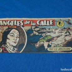 Tebeos - (M19) ANGELES DE LA CALLE NUM 22 , HISPANO AMERICANA , SEÑALES DE USO CON ROTURITAS - 142448714