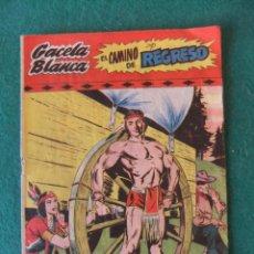 Tebeos: GACELA BLANCA Nº 6 HISPANO AMERICANA 1949. Lote 142552522