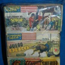 Tebeos: (M22) LOTE DE 157 EJEMPLARES - EL PEQUEÑO SHERIFF , HISPANO AMERICANA, VER DESCRIPCION . Lote 142579630