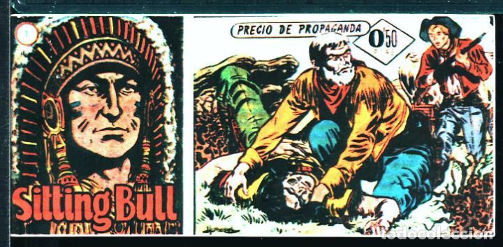TEBEOS-COMICS CANDY - SITTING BULL - 1 - HISPANOAMERICANA - TORO SENTADO - RARO - *XX99 (Tebeos y Comics - Hispano Americana - Otros)