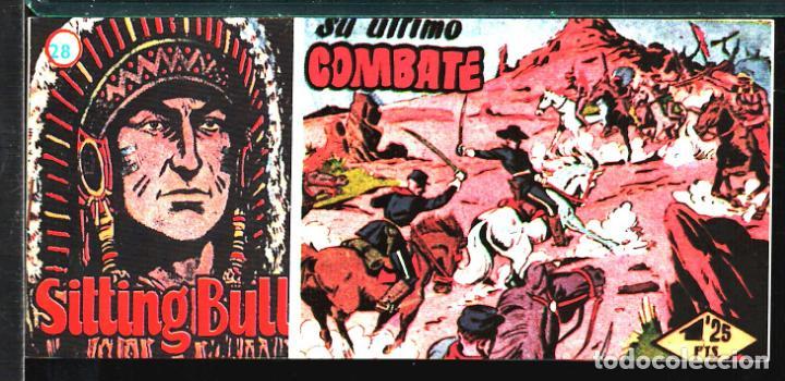 TEBEOS-COMICS CANDY - SITTING BULL - 28 - HISPANOAMERICANA - TORO SENTADO - RARO - *XX99 (Tebeos y Comics - Hispano Americana - Otros)